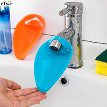 High Elastic Silicone Water Tap Water faucet Extending Tank Washing Device Extension Guide(China)