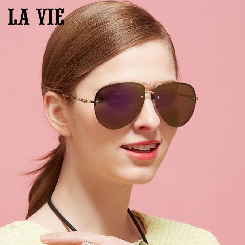 LA VIE Polarized Classic Design Fashion Women Sunglasses Coating Colorful Lens Female Sun Glasses Oculos De Sol Feminino LVA309<br><br>Aliexpress