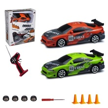 RC Car 4WD  1:24 Drift Car Toys For Childen  High Speed Type Original Box Colorful Light Drifting and Racing 2 in 1