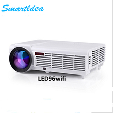 SmartIdea LED Home Cinema Android 4.4 WiFi Projector with 5500lumens Brightness Multimedia LCD Video Games HDMI D-TV Proyector
