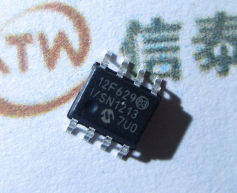 New line 12F629 PIC12F629 PIC12F629-I/SN 8 bit flash microcontroller<br>