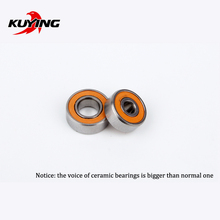 KUYING Original Thunder Reel Coil Wheel Ceramic Bearings Spare Parts(1 pair = 2 pieces)(China)