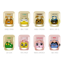 SHINEHENG Ryan Cartoon Action Figure Toy Cute Ring Puppets Lovely Design Anti-fall Ring Stiker