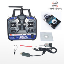 FlySky CT6B FS-CT6B Transmitter / Remote Control 2.4G 6CH Radio Model RC Transmitter+ Flysky R6B Receiver FPV Heli/Airplane/Glid(China)