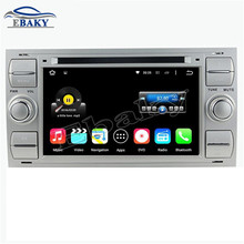 Silver 7inch 2GB RAM 32GB Octa Core Android 6.0 Car DVD player for Ford focus 1999 2000 2001 2002 2003 2004 2005 2006 2007 2008