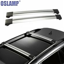 Oslamp 3 Size 93-111cm Roof Rack Universal Adjustable Roof Rack Cross Bar for Honda Toyota Ford SUV Kayak Snowboard Bike Luggage(China)