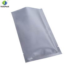 "Fast shipping 7x10cm (2.75x4"") Tear Notch Heat sealing silver aluminum foil Mylar Vacuum Package open top packing bags(China)"