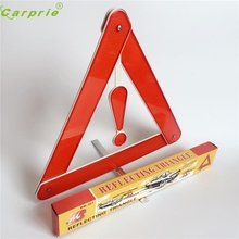 New Arrival Folding Car Emergency Tripod Reflective Automobile Traffic Warning stop sign at17(China)