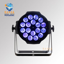 Rasha New Arrival Hot Sale18pcs*18W 6IN1 RGBAW+UV LED Par Light,LED Par Can For Stage Disco Event, UV LED Par 64 Light