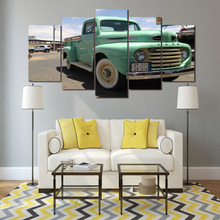 HD Printed Pickup trucks Painting Canvas Print room decor print poster picture canvas Free shipping/SK-041