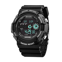 5 Color LED Display Sports Watch Men Digital Wriswatch Waterproof Watches Military relogio masculino Reloj Hombre