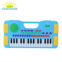 31 Keys Electronic Multifunction Mini Electronic Keyboard Music Toys Educational Electronic for Children Kids Toddler Beginners(China)