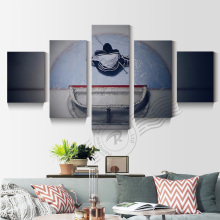 5 Piece Hockey Goalie Oil Painting Ice Hockey Goalkeeper Canvas Picture Home Decor Wall Art For Living Room Print Unframd BR0200(China)