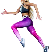 New Fashion Summer Leggings Women Fitness Leggings Casual Printed Workout Leggings Elastic Slim Pant Exercise Cuty Leggings(China)