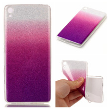 Beautiful Girl Manufacturing Delicate Flash Powder TPU Soft Cover Case For Sony Xperia XA Mobile Phone Case Coque Capa Funda Bag(China)