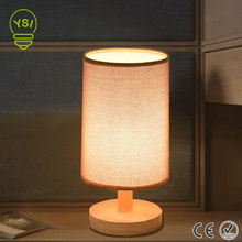 Modern Table Lamp Light Bedroom Living Room Decoration Wood Desk Lamp Luminarias Creative Personality DIY Table Light For Home