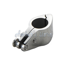 Free Shipping Jaw Slides Bimini Hinged 22mm Stainless Steel Marine Hardware Boat(China)