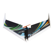 DW HOBBY Upgraded Rainbow 1000mm Wingspan EPP Flying Wing RC Airplane KIT(China)