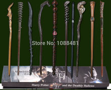 New Harry Potter Wand Mundungus/Thomas/Black Thorn /Umbridge/Yalley/Nagini/Fred twins Wand 10 KINDS With Box(China)