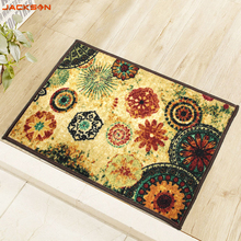 Retro Rugs Bath Mats For Bathroom Flower Pattern Anti Slip Mat Carpet Rugs For Bathroom Toilet Home Office Mat Carpet C(China)
