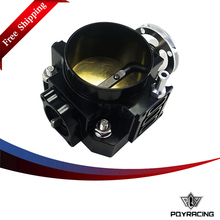 PQY RACING Free shipping- NEW THROTTLE BODY FOR RSX DC5 CIVIC SI EP3 K20 K20A 70MM CNC INTAKE THROTTLE BODY PERFORMANCE PQY6951