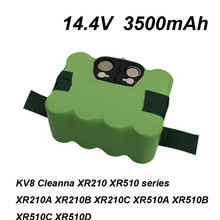 14.4V 3500mAh SC Ni-MH battery Vacuum Sweeping Cleaner for KV8 XR210 XR510 XR210A XR210B XR210C XR510A XR510B XR510C XR510D