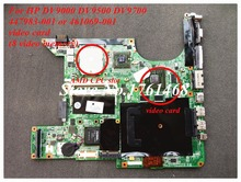 For HP DV9000 DV9500 DV9700 series 447983-001 461069-001 Laptop motherboard mainboard 100% Tested Free Shipping