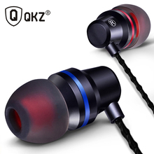 QKZ DM1 In-Ear Earphone Special Edition Headset Clear Bass Earphones With Microphone 3 Colors fone de ouvido audifonos Headset(China)
