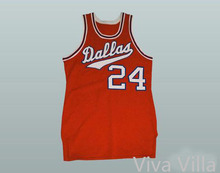 1968-69 Dallas Basketball Jersey #16 #24 Custom Stitched Movie Basketball Jersey Free Shipping Viva Villa(China)