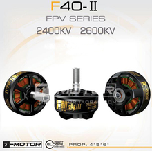 Buy T-motor F40 II FPV racing drone motor 2400KV 2600KV 12N14P 3-4S multi-rotor motor quadcopter multicopter accessories for $26.99 in AliExpress store