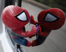 Spider Man Toy Climbing Spiderman Window Sucker for Spider-Man Doll Car Home Interior Decoration 3 color 16CM(China)
