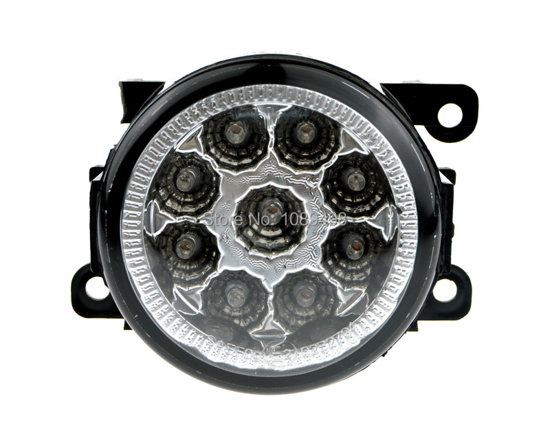 2 Pieces/Pair Front DRL LED fog lamp lights are suitable for Focus 2 3 2007-2014 Fiesta/Peugeot/Chevrolet/ Swift/Autoart/Renault<br>