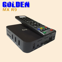 50PCS [FEDEX] MX MX R9 4K Android TV Box Rockchip 3229 Quad Core UHD 4K 60fps HD 2.0 Miracast DLNA Airplay Smart TV Box(China)