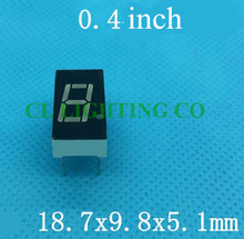 Common CATHODE 0.4 inch EL products red digital tube seven Segments display(Nixie tube)(China)
