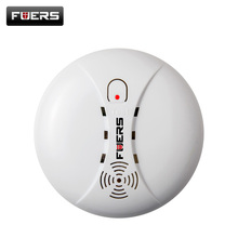 Wireless Smoke Detector Alarm System Alarm Accessories Sensitive Smoke/fire Detector For Home Security Alarm System 433Mhz(China)