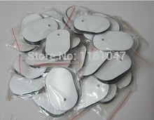 Free Shipping 30pcs/lot TENS EMS Self Adhesive Electrode pads Acupuncture Slimming Massager for Digital Therapy Machine