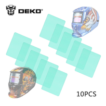DEKOPRO Auto Darkening Welding Helmet Outside Exterior Cover Lens 10 pcs