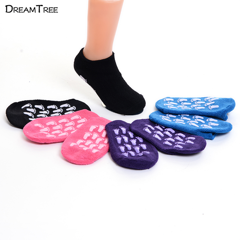 Image Towel Socks Home Shoes Young Girl And Boy Indoor Socks Baby School Slipper Socks Anti Slip Socks Can Fit 12 17 CM