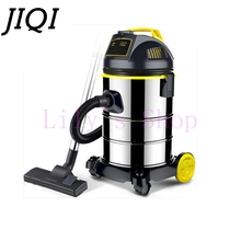 Vacuum cleaner powerful handheld aspirator dust catcher Collector barrel type Dry and wet blow industrial quiet vacuum sweepter(China)