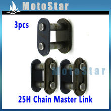 3xpcs T8F Chain Spare Master Link For Motorcycle Mini ATV Quad 4 Wheeler Dirt Super Pocket Bike 2 Stroke 43cc 47cc 49cc