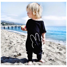 Newborn Infant  Baby Boys Cute Bunny Rabbit Printed RompersToddler Jumpsuit Bodysuit One Piece Clothes for 3M-4Y