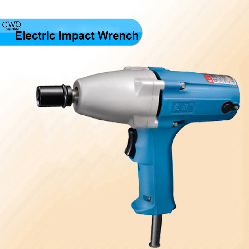 300w Electric Wrench M8-M12 Impact Wrench 220-240v/50hz P1B-FF-12 Electric Impact Wrench 1/2 inch Socket 12.7x12.7mm<br>