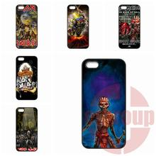 For Moto X1 X2 G1 G2 E1 Razr D1 D3 For BlackBerry 8520 9700 9900 Z10 Q10 Iron Maiden poster Cases Cover