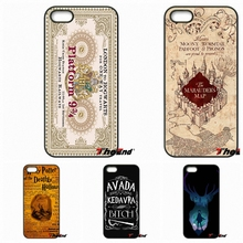 For HTC One M7 M8 M9 A9 Desire 626 816 820 830 Google Pixel XL One plus X 2 3 Marauder's Map Harry Potter Train Ticket Art Case(China)