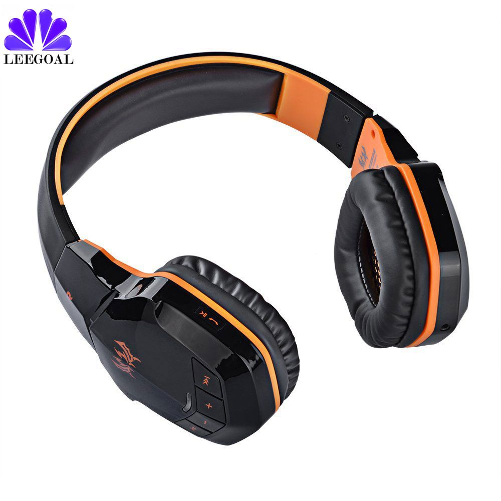 New Version Wireless Bluetooth 4.1 Stereo Gaming Headphones Headset EACH B3505 With Volume Control MIC HiFi Music Headsets  3<br>