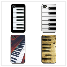 Customized Phone Case Piano Keys Musical Cover Case for iphone 4 4s 5 5s 5c SE 6 6s plus 7 7 plus