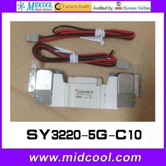 5 way pilot solenoid valve SY3220-5G-C10<br>