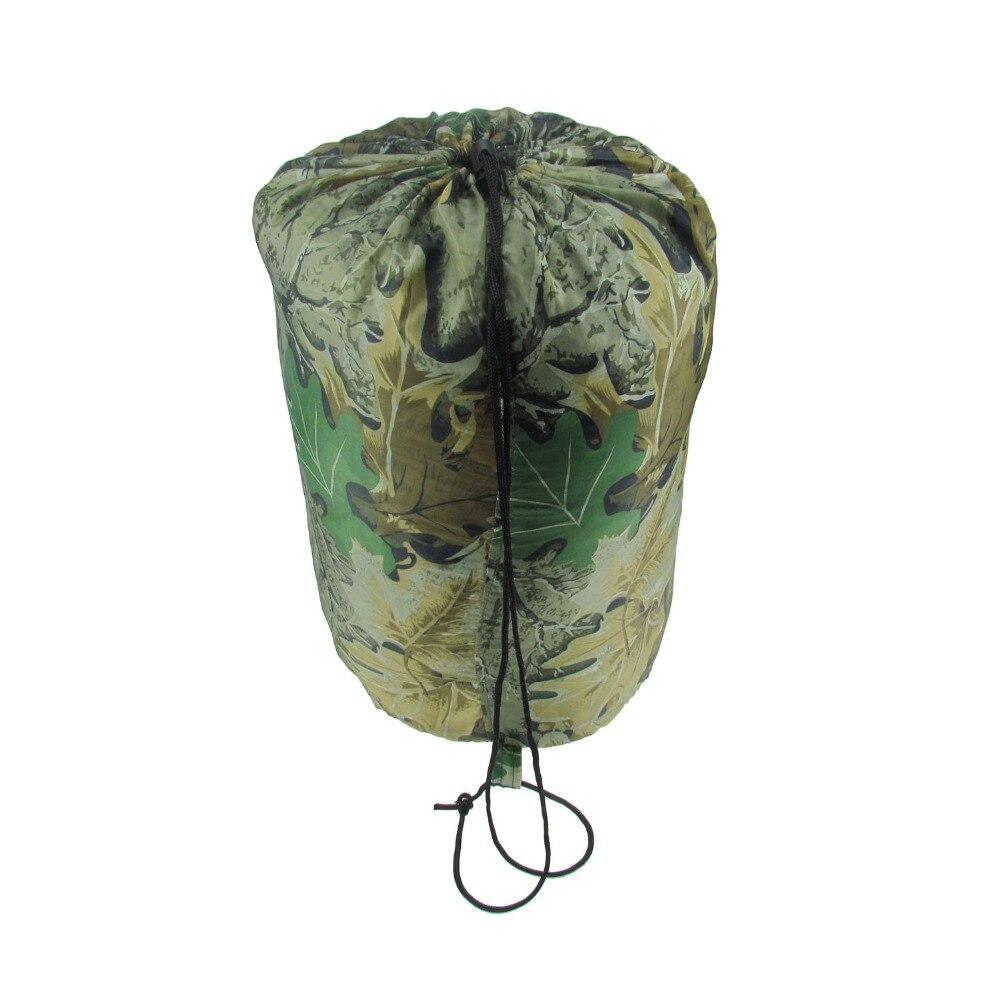 Tourbon Portable Envelope Camping Sleeping Bag Outdoor Hunting Fishing Travel Hiking Camo Bag Military<br><br>Aliexpress
