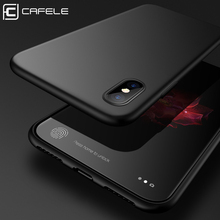 Cafele Phone Case for Apple iPhone X Case TPU Luxury Soft Cover for iPhone X Anti-fingerprint Flexible Support Wireless Charging(China)