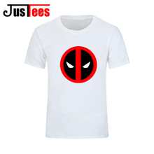 Deadpool Creative Top Cool T-Shirts Men Funny T shirts Fashion Design Style Tee White Short Sleeve Printed Men and Women Tshirts